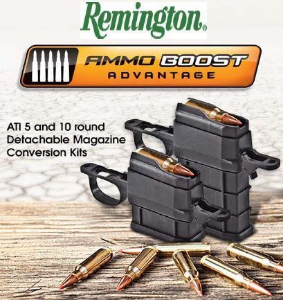 ATI Remington 700 Umrüstkit auf Magazin. long  system