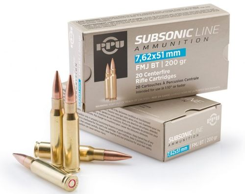308 Winchester Subsonic 200gr