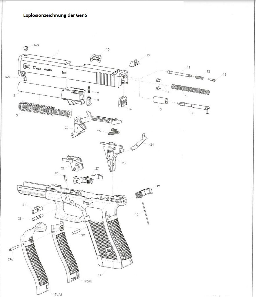 ersatzteile original   alle ersatzteile f u00fcr ihre glock